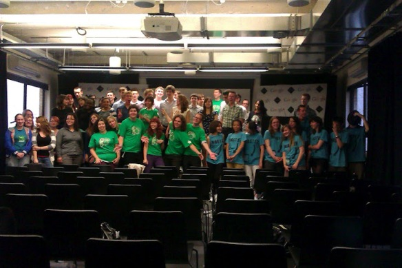 iGEM Synthetic Biology UK Teams Hangout at Google Campus, London.