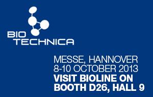 Bioline at Biotechnica 2013
